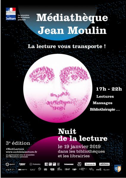 Margny-lès-Compiègne Nuit de la lecture 2019